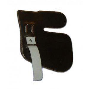 Tvár Leather A&F Tab Chránič na prsty