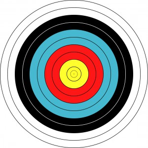 Terč FITA 60cm