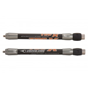 Bočný stabilizátor Tec X 21 mm Avalon čierna/oranžová